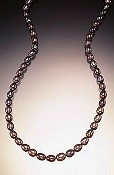 Kate oval necklace
